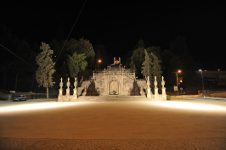 Iluminação eficiente implementada no centro de Lamego